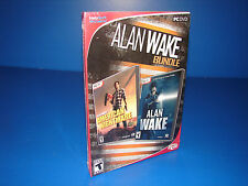 Alan Wake Bundle - Includes American Nightmare - PC Game - New SEALED!!