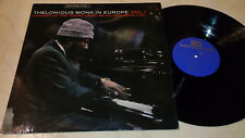Thelonious Monk In Europe VOL.1 Original Dutch Riverside 1st Press NM