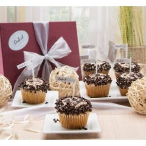 Dulcet Gift Baskets Gourmet Cappuccino Frosting Cupcakes
