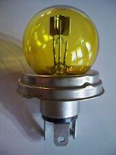 Lampe Code Européen 12V 45/40W P45t jaune NEUVE (ampoule)