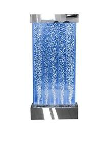 Sensory LED Four Ft Wall Mounted Bubble Wall with Remote Control- Playlearn