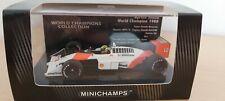 Minichamps Ayrton Senna WORLD CHAMPION 1988 McLaren MP4/4 ESC 1:43 VERY RARE!