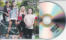 ONLY THE YOUNG I Do 2015 UK 1-track promo test CD