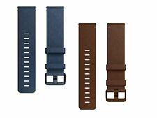 Genuine Fitbit Versa Activity Tracker Smartwatch Leather Wrist Strap Small