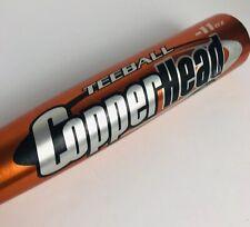 "Worth Copperhead Whiplash Ultra Lite 11 Teeball Bat 25"" 14 Oz 2.25"" Diameter"
