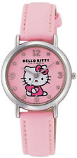Hello Kitty Wrist Watch Waterproof Pink HK15-005 CITIZEN Q&Q Japan Sanrio