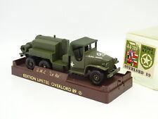 Solido Militar Ejército 1/50 - GMC Cisterna El Rey Overlord 1989
