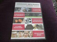 """5 DVD """"LA RUELLE AU CLAIR DE LUNE / L'IVRESSE DE LA METAMORPHOSE Niels Arestrup"""