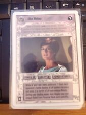 Star Wars CCG 2nd Second Anthology Mon Mothma NrMint-Mint SWCCG