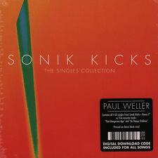 "PAUL WELLER SONIK KICKS THE SINGLES COLLECTION COFANETTO 5 VINILI 7""  NUOVO"