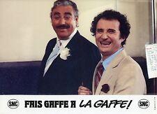 DANIEL PREVOST MARCO PERRIN FAIS GAFFE A LAGAFFE ! 1981 PHOTO N°3  FRANQUIN