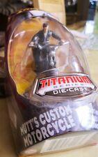Indiana Jones Titanium Series Die-cast-alemán discusión de motocicletas.