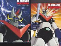 14 Dvd x 2 Box Cofanetto IL GRANDE MAZINGA di Go Nagai serie collez completa new