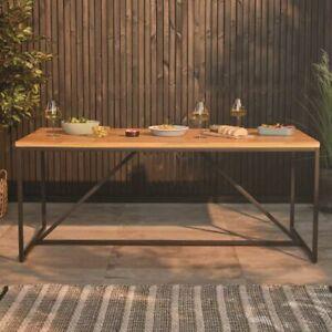 Acacia Manchester Dining Table Teak Look Solid Acacia Indoor Outdoor