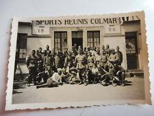 Foto Kriegsgefangene Franzosen Kolonial-Soldaten Colmar 1940 Inder Afrikaner
