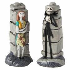Enesco Disney Ceramics Nightmare Before Christmas Jack and Sally Salt and