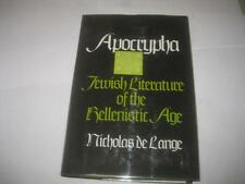 Apocrypha: Jewish literature of the Hellenistic age by De Lange
