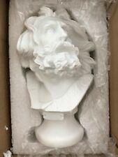 Skulptur Statur Figur Figure Weiss Hausdeco DECO EU Tischdeco Kunst ART 15cm Neu