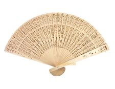 Wood Hand Fan Chinese Sandalwood Style Bridal Party Favor Wedding Gifts Decor