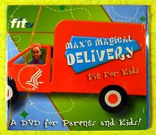 Max's Magical Delivery - FitTV Fit For Kids ~ DVD ~ New ~ Childrens Health Video