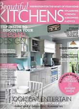 Beautiful Kitchens magazine Dream design Storage Room refresh Floral cushions