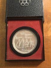 Canada 1973 Olympic $5 Silver UNC