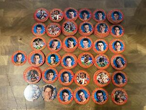 1990's Coca Cola Adelaide Crows Cards Pogs Tazos Lot