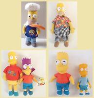Vintage Talking Homer Bart Super Hero Hawaiian Shirt Chef Outfits Clock Golf