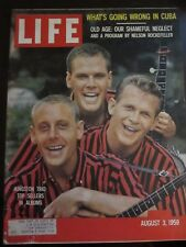 Life Magazine August 1959 Kingston Trio Top Sellers in Albums