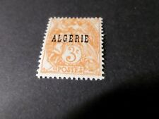 ALGERIE FRANCAISE 1924, timbre 4, type BLANC, neuf*, VF MH STAMP