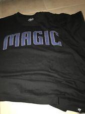 Orlando Magic 47 Brand Fieldhouse Logo SS T-shirt XL Black
