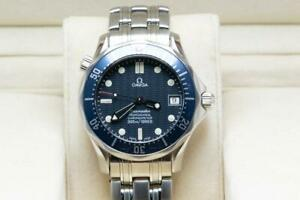 Gents Mid Size Omega Seamaster Wristwatch 38mm Auto 25518000 - Box & Papers 1998