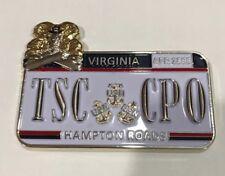 US NAVY Chief Officer's Association TSC CPO Virginia Hampton Rd Challenge Coin!