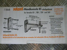 Magra Wandkonsole 85 schallgedämmt für Verteiler Art. 74010160 Neu OVP