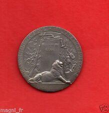 Médaille de table en argent - Paul Victor GRANDHOMME - Ministère de la Guerre