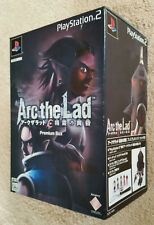 arc the lad PS2 / premium box . JAP / comme neuf . collector . rpg