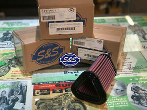 S&S Air Filter Cleaner Royal Enfield Continental GT 650 Interceptor Twin