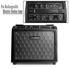 US Rechargerable Portable  Electric Guitar Amplifier Speaker Amp Bass Distortion