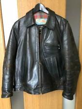 Aero Leather Co Authentisch Pferdeleder Highwayman Jacke Gebraucht