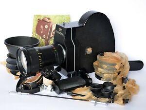 MINT FULL SET KRASNOGORSK-3 Super16 upgraded movie camera M42 METEOR-5-1 17-69mm