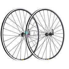 New Pair Road Bike 28h Wheels Miche Reflex Hubs & Mavic CXP Elite Rear Ca