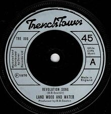"LAND WOOD & WATER-revolution song      trench town 7""    (hear)    reggae roots"