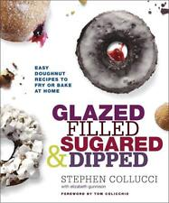Glazed, Filled, Sugared and Dipped: Easy Doughnut Recipes   FREE SHIP to Oz