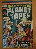 Adventures On The Planet of The Apes #4 1975 Bronze age Marvel Comic
