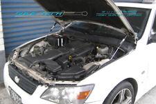 99-05 Lexus IS200 IS300 GXE10 LHD Black Strut Gas Lift Hood Shock Damper Kit