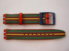 SWATCH x CHRONO THE TOP BRASS - SCN116 - 1995 - NUOVO strap armband ORIGINAL