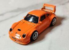 Porsche 993 GT2 Orange 1st Ed 911 Hot Wheels 1:64 Diecast model car MINT LOOSE