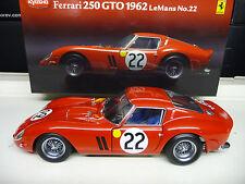 1:18 Kyosho FERRARI 250 GTO Le Mans #22 NEU NEW