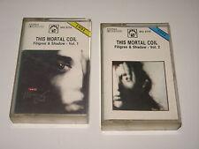 THIS MORTAL COIL - Filigree & Shadow vol.1&2 - MC cassette tape 1991/2006