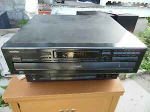 Onkyo DX-C230 Vintage 6 CD Changer Carousel CD Compact Disc Player With Remote